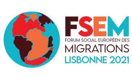 Vendredi 25 novembre, une vingtaine d'organisations de la société civile française dont les membres de l'O.C.U. se sont réunies à Paris pour la première rencontre de la délégation française au Forum social européen des migrations qui se tiendra à Lisbonne du 18 au 21 mars 2021.